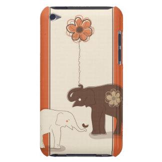 Caisse florale à la mode d'iPod de décor Coque iPod Touch
