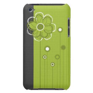 Caisse florale à la mode d'iPod de décor Coques iPod Touch
