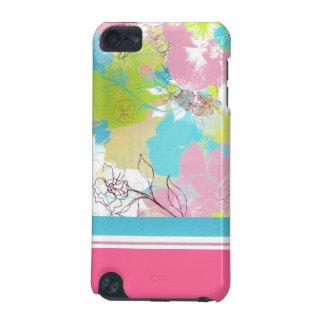 Caisse florale en pastel de contact d'iPod de méla Coque iPod Touch 5G