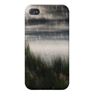Caisse foncée de tempête étuis iPhone 4