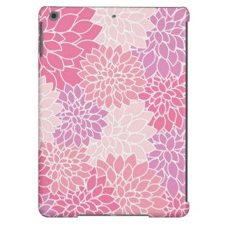 Caisse imprimée florale rose d'air d'iPad Coque iPad Air