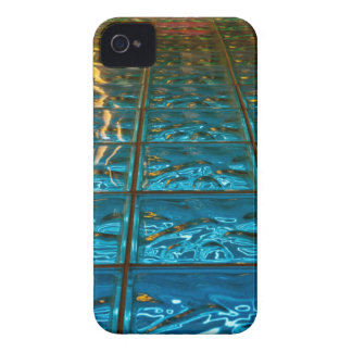 caisse iPhone4 abstraite de bleu à peine là Coque iPhone 4 Case-Mate