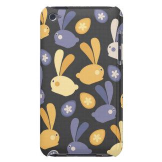 Caisse lunatique d'iPod de décor de lapins Coque Barely There iPod