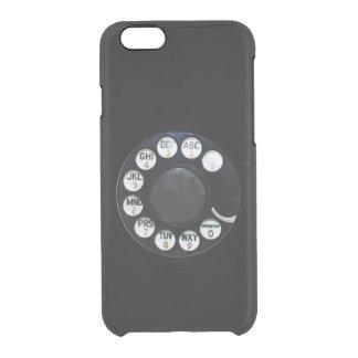 Caisse noire de déflecteur de Clearly™ de l'iPhone Coque iPhone 6/6S