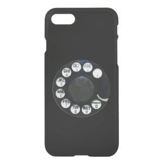 Caisse noire de déflecteur de Clearly™ de l'iPhone Coque iPhone 7