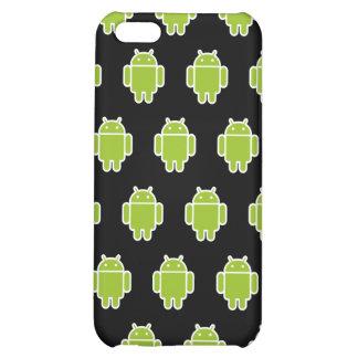 Caisse noire de l'iPhone 4 d'androïdes Coque iPhone 5C