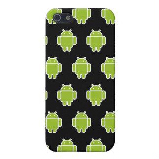 Caisse noire de l'iPhone 4 d'androïdes Étui iPhone 5