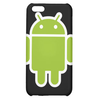 Caisse noire de l'iPhone 4 de Bugdroid Coques Pour iPhone 5C