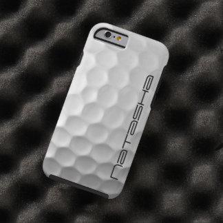 Caisse personnalisée de l'iPhone 6 de boule de gol Coque iPhone 6 Tough