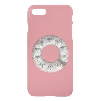 Caisse rose de déflecteur de Clearly™ de l'iPhone Coque iPhone 7