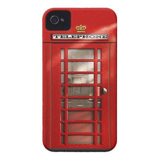 Caisse rouge britannique classique de l'iPhone 4 d Étuis iPhone 4