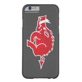 Caisse rouge de l'iPhone 6 de porc Coque Barely There iPhone 6