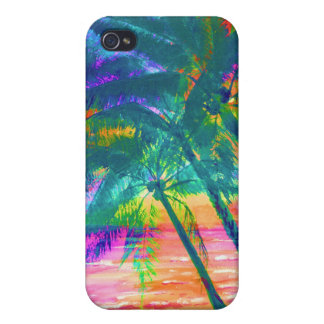Caisse secrète de point d'île étuis iPhone 4