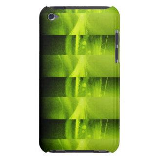 Caisse verte d'IPod de techno Étuis Barely There iPod