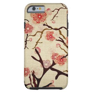 Caisse vintage de cerisier coque tough iPhone 6