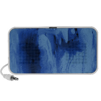 Caisses et couvertures bleues de téléphone d aquar haut-parleur mobile