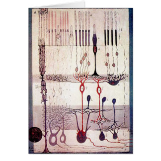 Cajal Greetings Card
