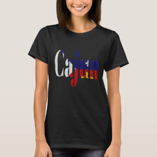 Cajun Acadian Flag Louisiana Tee Shirt