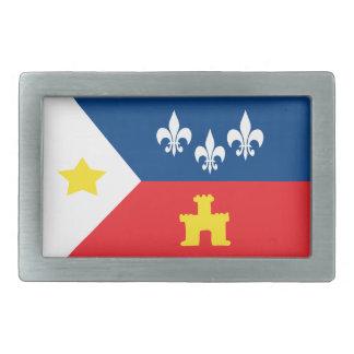 Cajun Acadiana Flag Belt Buckle
