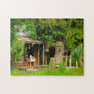 Cajun Cabin Louisiana. Jigsaw Puzzle