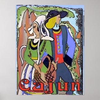 Cajun Couple Poster