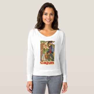Cajun Couple with Oaks T-shirt