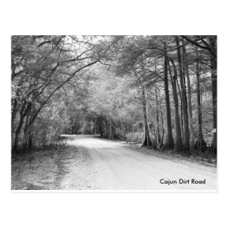 Cajun Dirt Road postcard