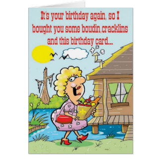 Cajun Greetings Card