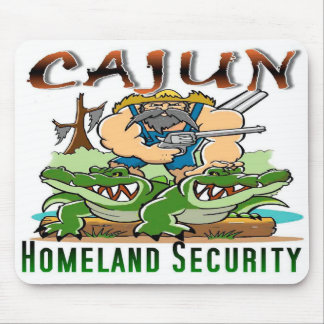 Cajun Homeland Sercurity Mousepad. Mouse Pad
