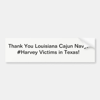 Cajun Navy Bumper Sticker