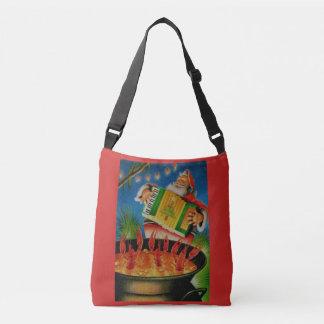 cajun santa purse crossbody bag