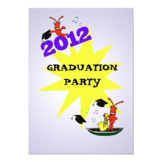Cajun Themed Graduation 2012  Party Invitation