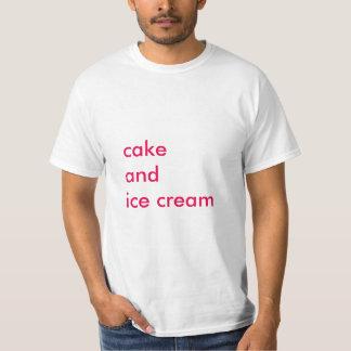 Cake And Ice Cream T-Shirt