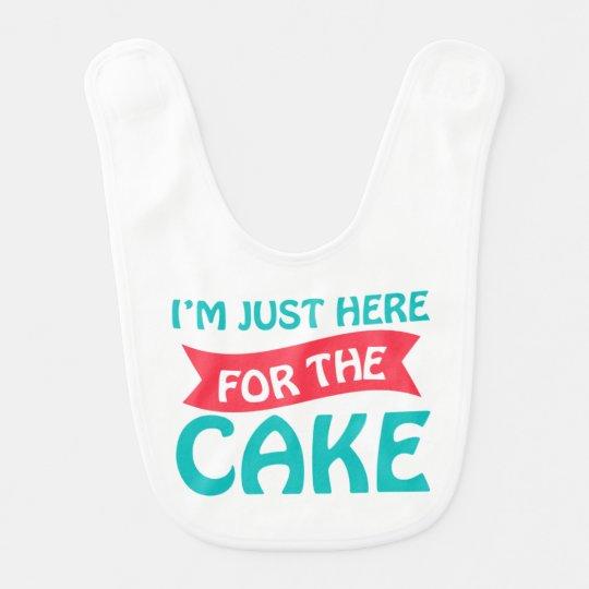 Cake Baby Bib
