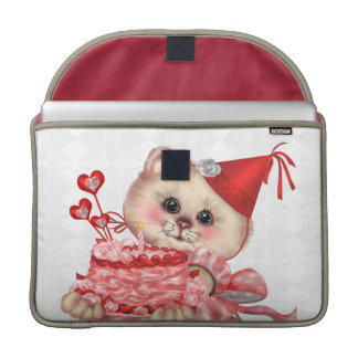 CAKE CAT  Rickshaw Macbook PRO Sleeve 15 ""