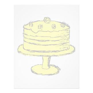 Cake. Custom Flyer