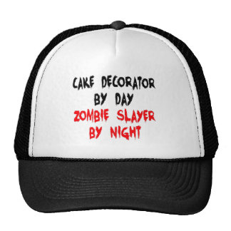 Cake Decorator Zombie Slayer Trucker Hat