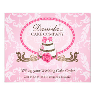 Cake Discount Voucher Custom Flyer
