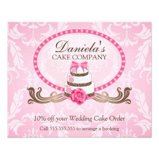 Cake Discount Voucher Custom Flyer