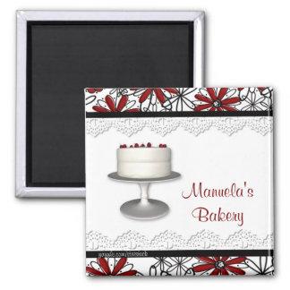 Cake Flower Border Magnet