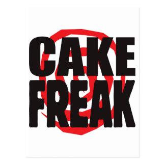 Cake Freak Postcard