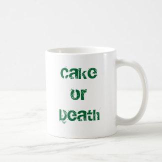 Cake or Death Coffee Mug