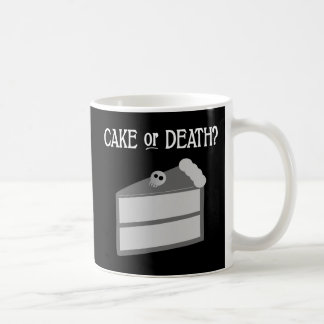 Cake or Death? Coffee Mug