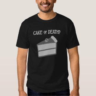 Cake or Death? Tshirts