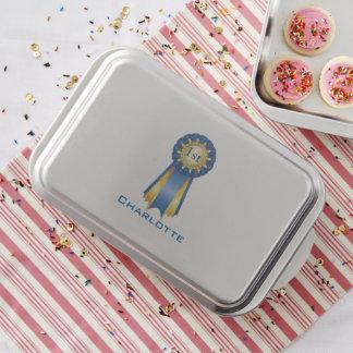 Cake Pan Blue Ribbon 1st place Custom Name