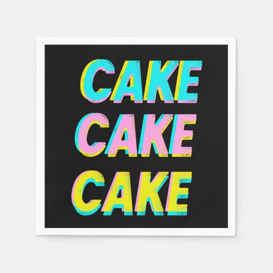 Cake Paper Napkins