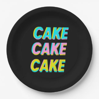 Cake Paper Plate 9 Inch Paper Plate