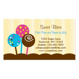 Cake Pops Bakery Business Card
