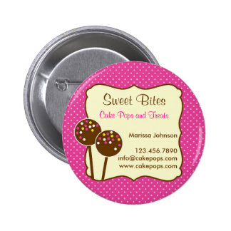Cake Pops Bakery Button