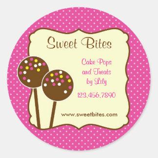 Cake Pops Bakery Sticker
